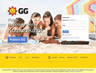 Main page screenshot of polchat.pl