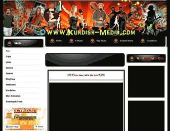 kurdish-media.com screenshot