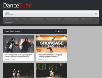 dancetube.net screenshot