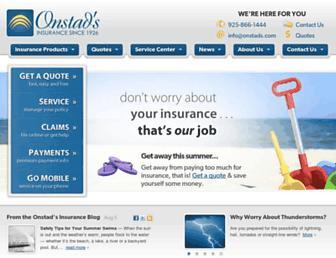 onstads.com screenshot