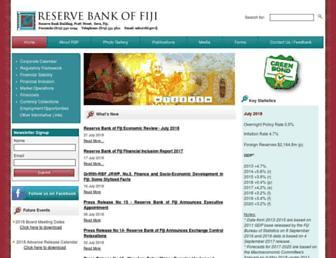 rbf.gov.fj screenshot