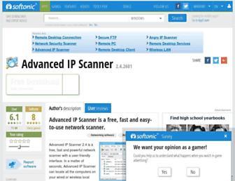 advanced-ip-scanner.en.softonic.com screenshot