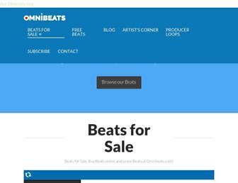 omnibeats.com screenshot