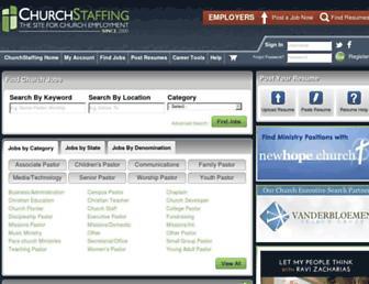 Thumbshot of Churchstaffing.com