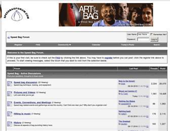speedbagforum.com screenshot