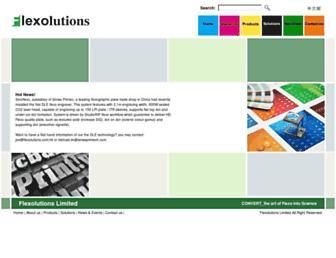 flexolutions.com.hk screenshot