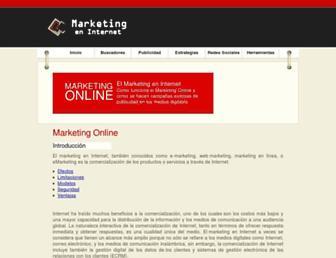 marketingenlinea.net screenshot