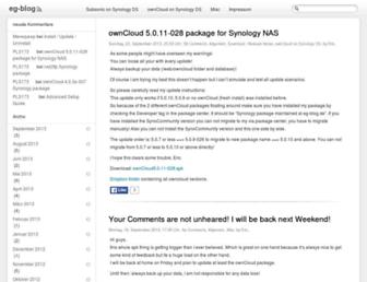 eg-blog.de screenshot