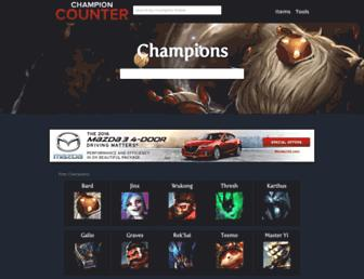 Thumbshot of Championcounter.com