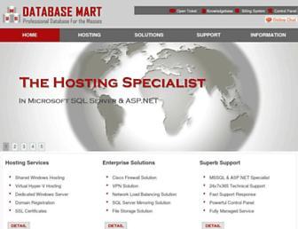Thumbshot of Databasemart.com