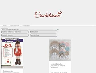 crochetisimo.com screenshot