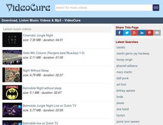 videocure.me screenshot