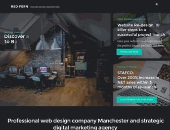 red-fern.co.uk screenshot