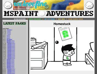 Thumbshot of Mspaintadventures.com