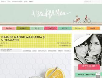 abeautifulmess.com screenshot