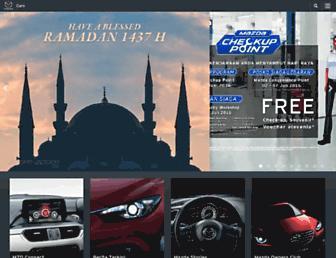 Thumbshot of Mazda.co.id
