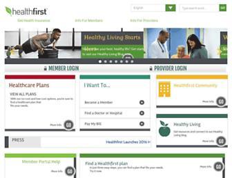 healthfirst.org screenshot