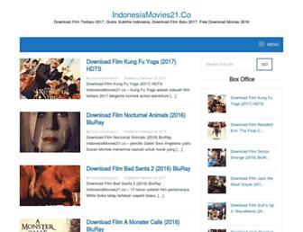 indonesiamovies21.co screenshot