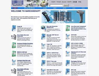 barcode-soft.com screenshot
