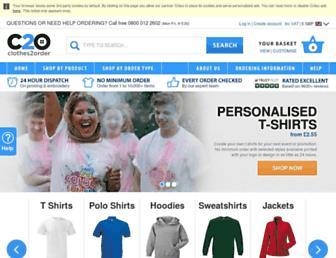 Thumbshot of Clothes2order.com