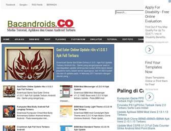 bacandroids.co screenshot