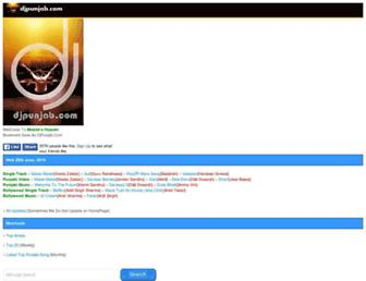 djpunjab.com screenshot