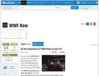 wwe-raw.en.softonic.com screenshot