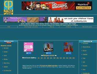 crazyprofile.com screenshot