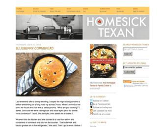 homesicktexan.com screenshot