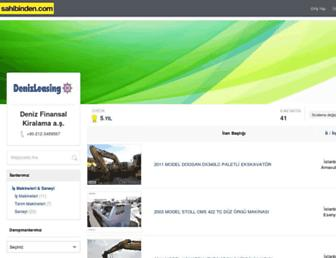 denizleasing.sahibinden.com screenshot
