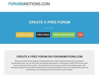 Thumbshot of Forumsmotions.com