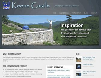 keenecastle.com screenshot