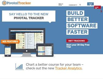 Thumbshot of Pivotaltracker.com
