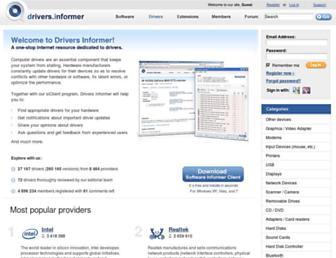 drivers.informer.com screenshot