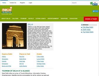 delhiinformation.in screenshot