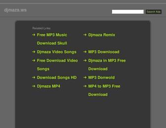 djmaza.ws screenshot