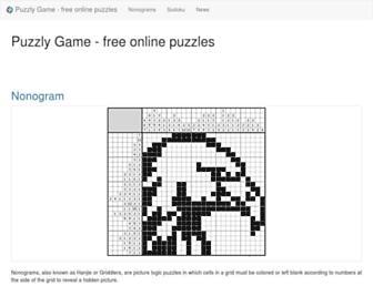 puzzlygame.com screenshot