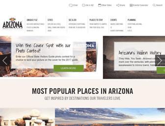 visitarizona.com screenshot