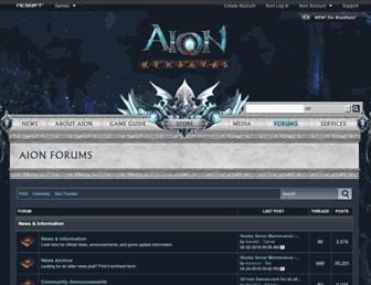 forums.na.aiononline.com screenshot