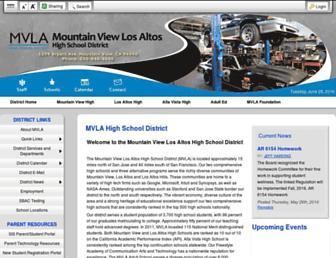 Screenshot for mvla.net