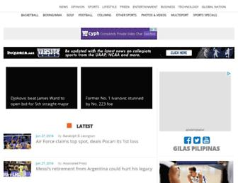 sports.inquirer.net screenshot