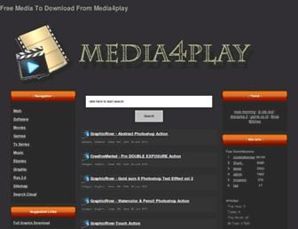 media4shared.net screenshot