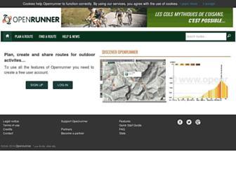 Thumbshot of Openrunner.com
