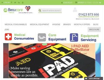 beaucare.com screenshot