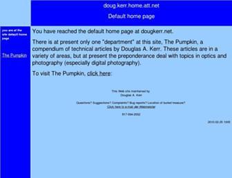 dougkerr.net screenshot