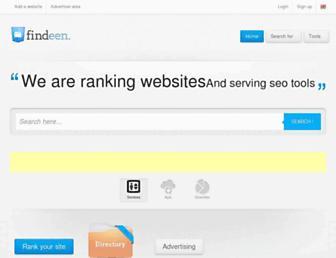 en.findeen.com screenshot