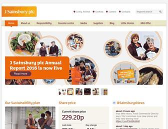 Thumbshot of J-sainsbury.co.uk