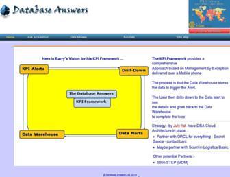 databaseanswers.org screenshot