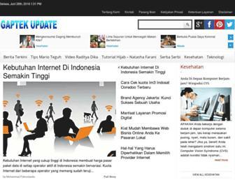 gaptekupdate.com screenshot