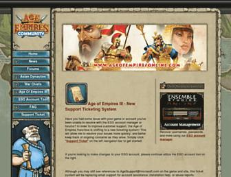agecommunity.com screenshot